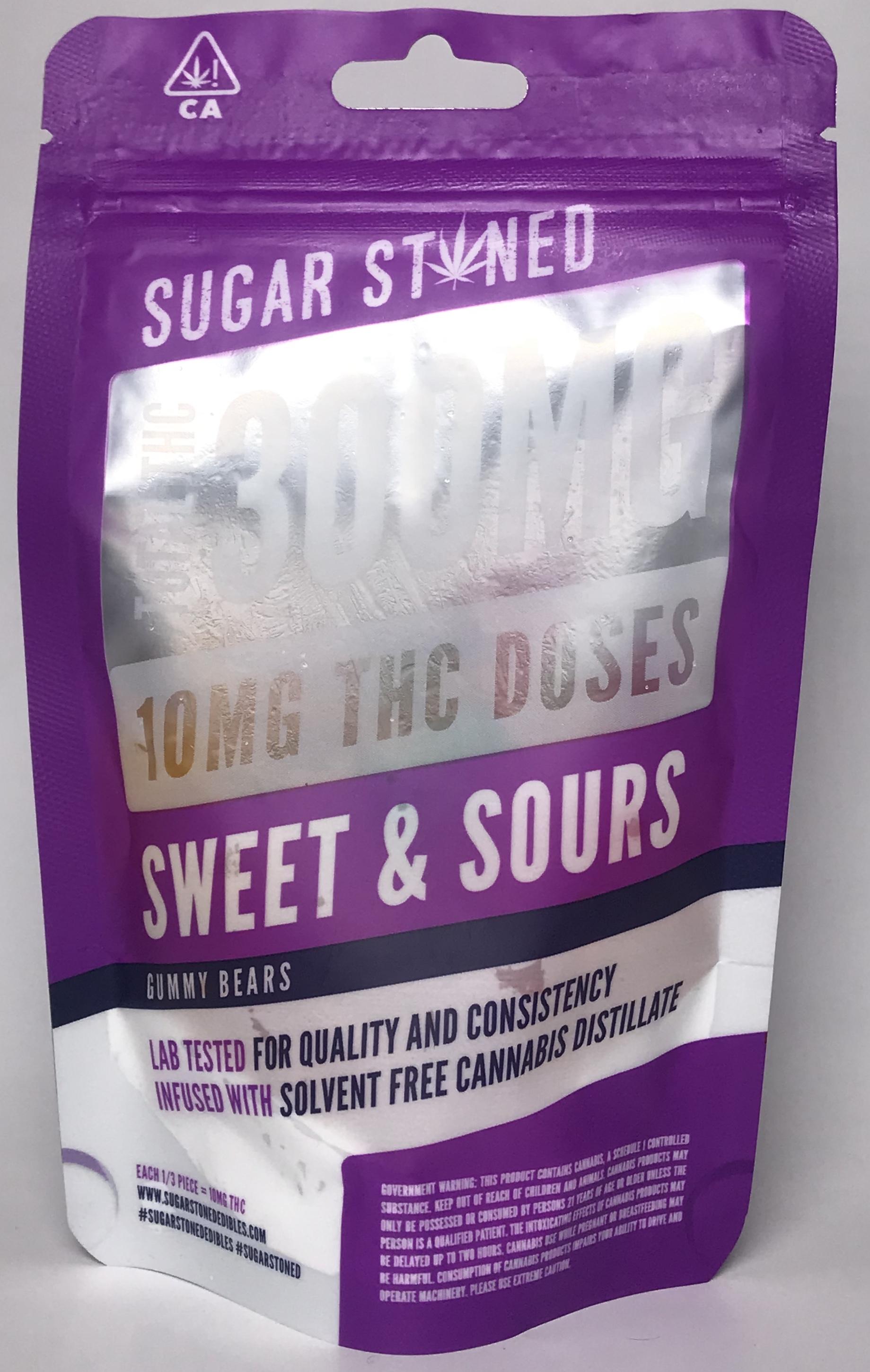 Sugar Stoned gummy bears 300MG