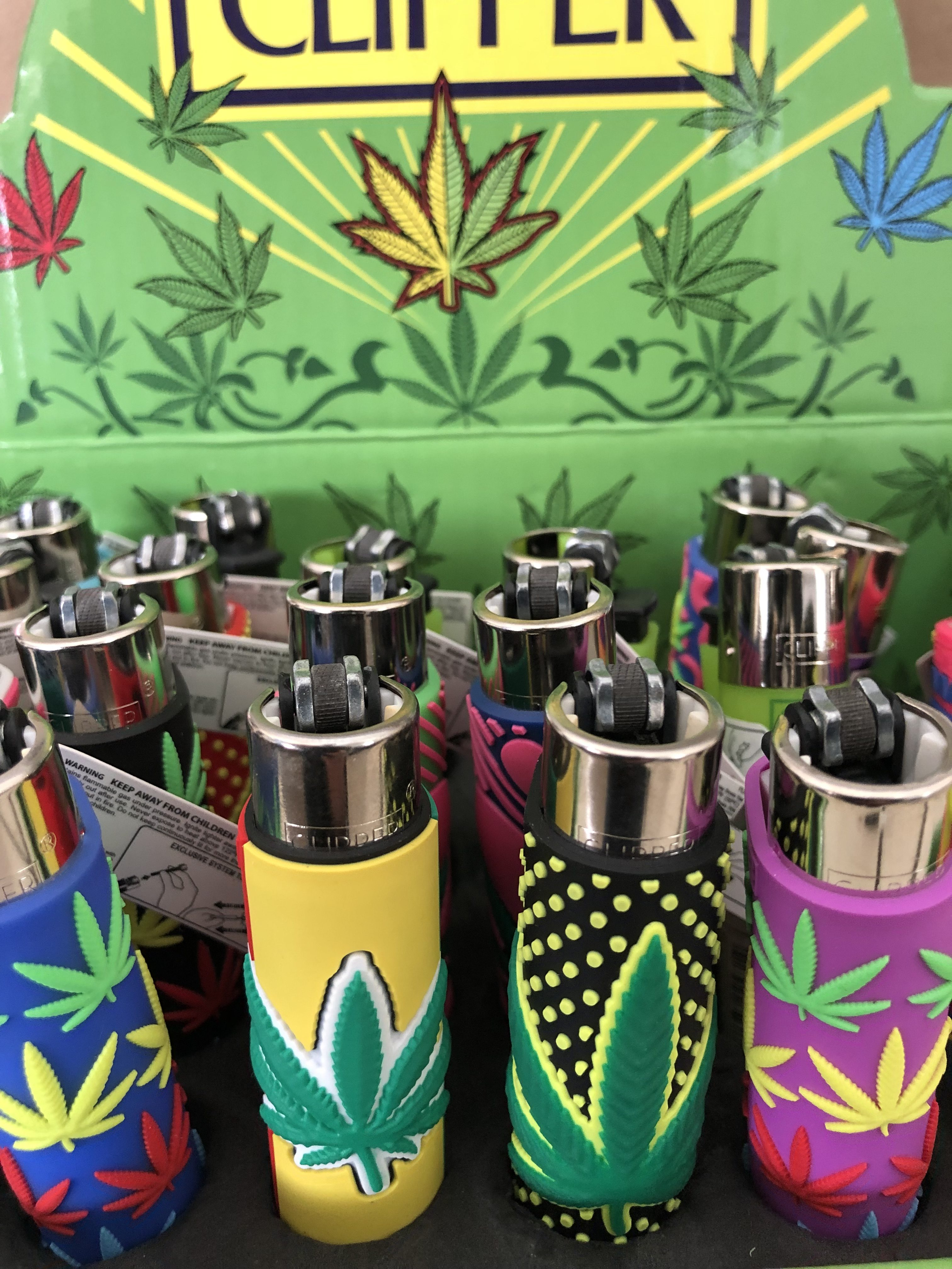 Clipper Lighter 420 Weed Design - Delivery Dispensary